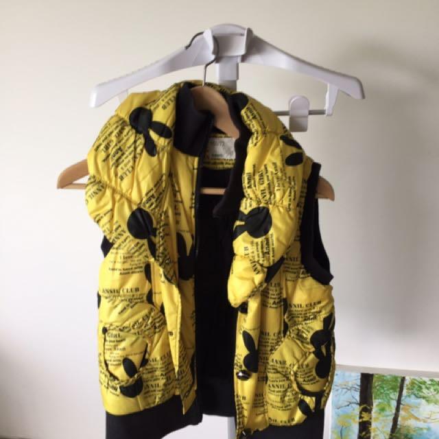 Warm yellow jacket