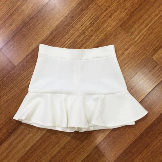 White Mermaid Skort