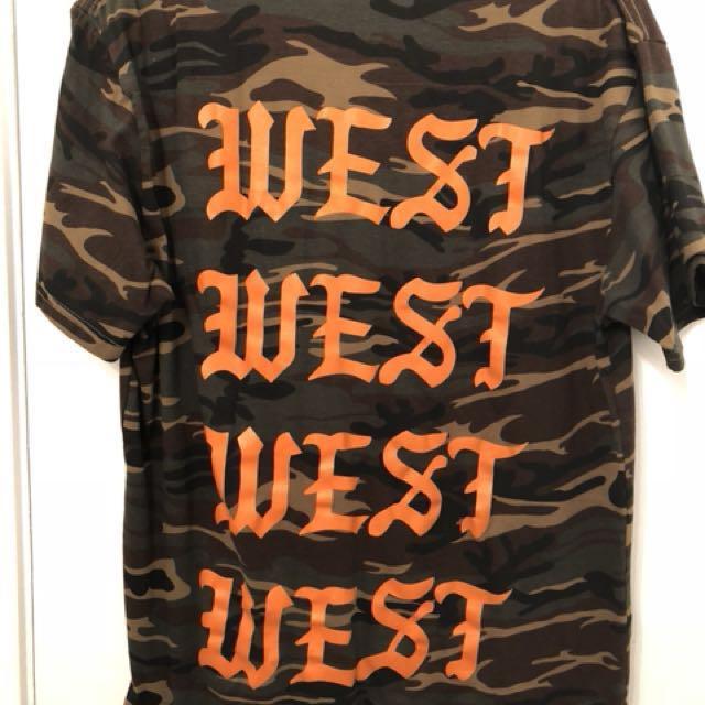 WLKN MR.West camo shirt
