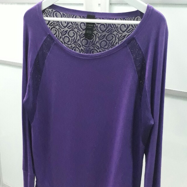 MPG Purple Awesome Workout Top
