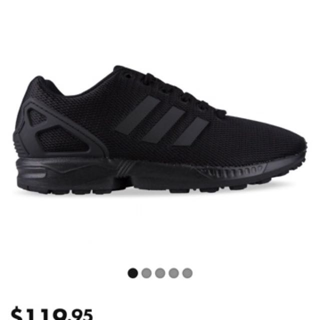 WTB adidas ZX flux all black, in a men's 6