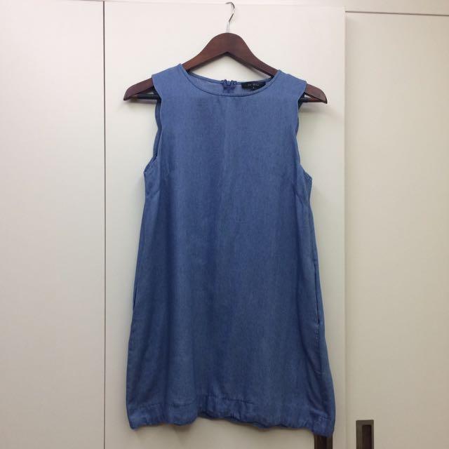Zalora Scallop Dress