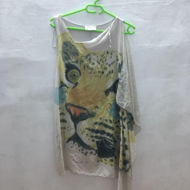 Zara雪紡洋裝