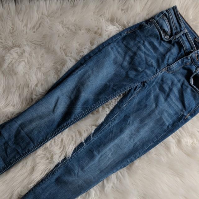 Zara embrace denim jeans