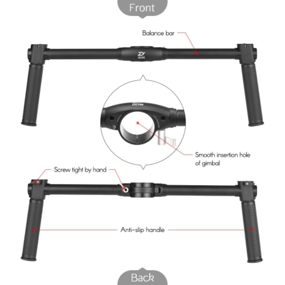 Zhiyun Crane-E002 Crane 2 dual handle bar (limited stock)