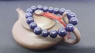 10mm 藍沙石 5A級 手珠
