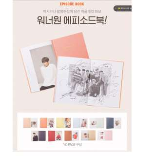 [5 SLOTS only]  Wanna One Mexicana Chicken Episode Book