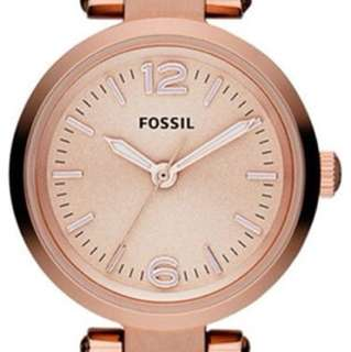 Rose gold small FOSSIL watch