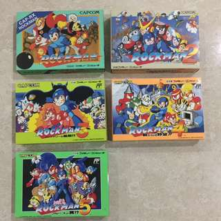 Rare Famicom rockman collection