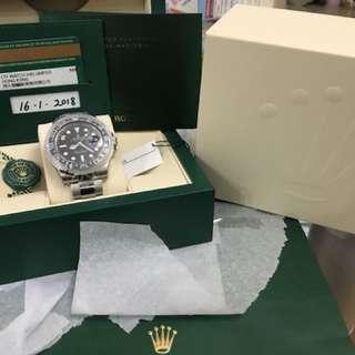 Rolex GMT Master II 116710LN 2018年