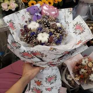 Bear Valentine Day Bouquet