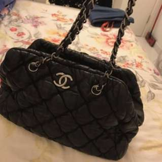 Chanel bubble bowler bag