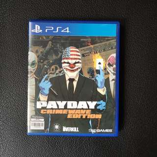 [PS4] Payday 2 Crimewave Edition