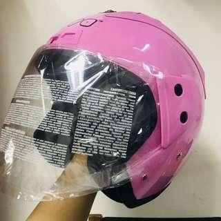Nova dot Helmet pink