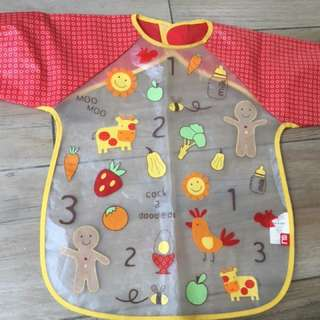 Wooden stroller accessories, feeding bib, perlak, teether