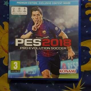 PS4 PES2018