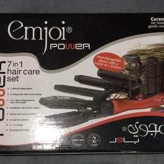 Emjoi 7 in 1 hair care set