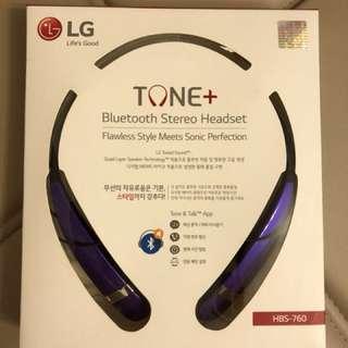 *全新未開封* LG藍牙LG TONE ULTRA Premium Stereo耳機HSB-760 *Brand new with unopened package* LG TONE ULTRA Premium Wireless Stereo Headset