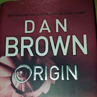 Origin by Dan Brown (Hardcover)