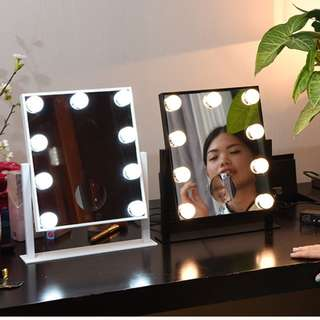 Hollywood LED vanity mirror (touch screen+dual color light)