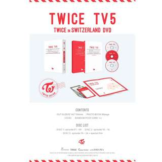 [MYGO/PO] TWICE TV5 : Twice In Switzerland DVD