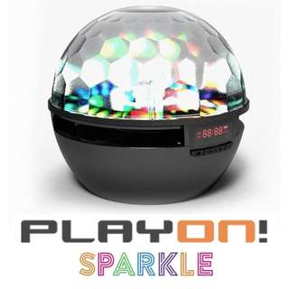 [BNIB] Playon! Sparkle Bluetooth Wireless Portable Disco Speaker