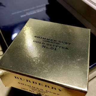 Burberry gold shimmer dust (No. 1)
