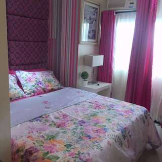 For Rent Condo pink interior