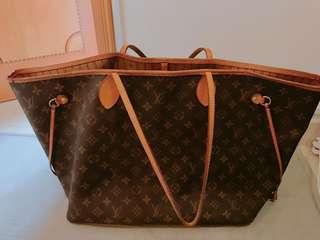 LV 大size 買餸袋