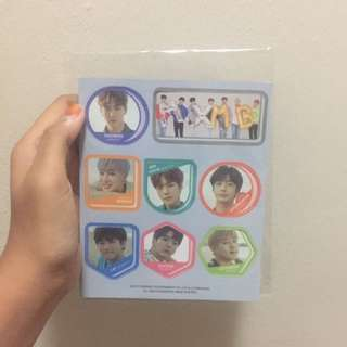 MONSTA X SG 2018 MAGNET SET