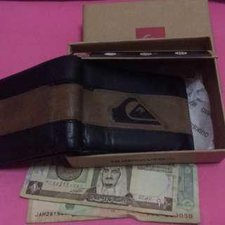 QUIKSILVER WALLET WITH BOX ORIGINAL