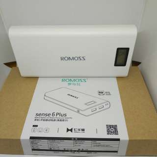 Romoss sense6 Power bank 20000mha