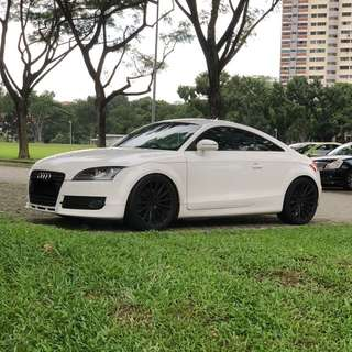 Lowest price Two Door Sports Car Audi TT Coupe For Lease!