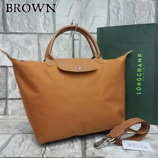 Longchamp Neo Large Brown Color