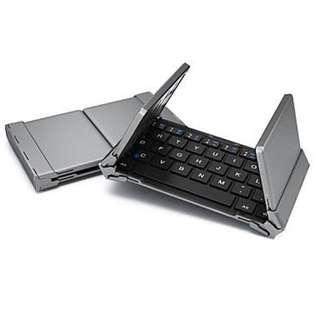 Bluetooth universal keyboard Samsung HB066 Baru - Black
