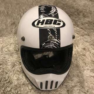 Helm caferacer / sportster