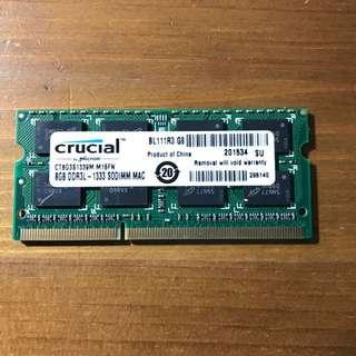 Crucial 8GB Ram