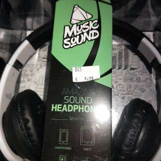 Headphones - 100percent new from Milan, Italy