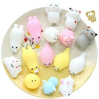 Cat Kitten Mochi Squishy Squeeze Toy