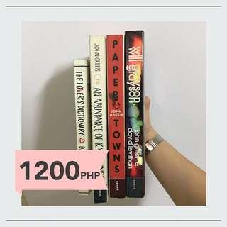 John Green + David Levithan Book Bundle