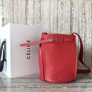 賽琳 55428 回貨 Celine bigbag系列桶包 配圖片原版包裝 尺寸:半徑20 高25