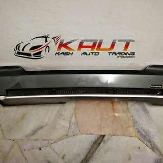 BMW F10 Rear Bumper Diffuser Hamann Style