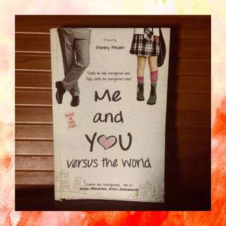Novel Me & You Versus The World (negoable)