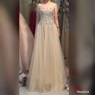 結婚晚裝裙