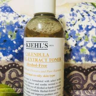Calendula Herbal extract toner + Calendula deep cleansin face wash