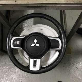evo X steering wheel