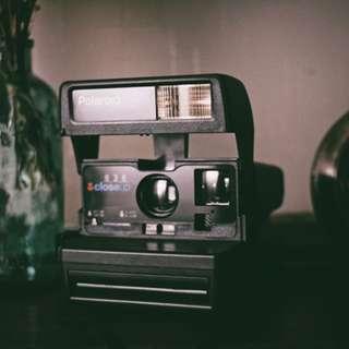 寶麗萊 Polaroid 636 拍立得 復古相機