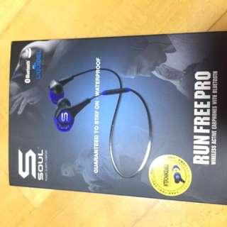 Soul Run Free Pro wireless Bluetooth 無線藍芽耳機