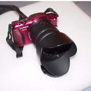 Like new Full box Lumix GF5 with Lens,Touch screen