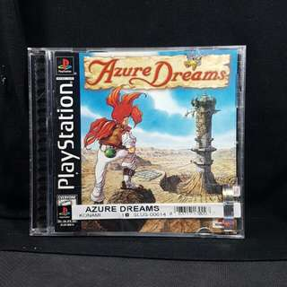 PS1 Azure Dreams (Used Game)